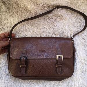 Longchamp shoulder leather bag